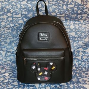 MICKEY MOUSE LOUNGEFLY MINI BACKPACK